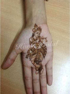 30 innovative Mehndi designs for Krishna Janmasthami Mehndi Designs Book, Mehndi Designs 2018, Dulhan Mehndi Designs, Mehndi Design Pictures, Wedding Mehndi Designs, Unique Mehndi Designs, Mehndi Designs For Fingers, Beautiful Mehndi Design, Henna Tattoo Designs