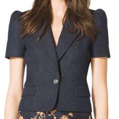 Short-Sleeve Blazer