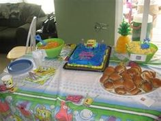 Image Search Results for spongebob birthday party