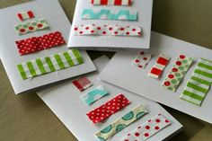 *♫~ ♡ I am so in love with this pretty handmade Cards. ~Christmas Cards by Concha ~