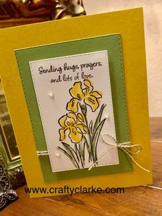 This stamp set has so much to offer, link below for details.  flowers, stampin' up!, crushed curry, daffodil delight