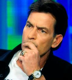 Charlie Sheen and his Patek Philippe Ref. 2438