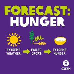 Extreme weather causes hunger and makes poverty worse. We're campaigning with @theccoalition to tackle climate change