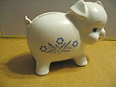 corning ware piggy bank (for my collection)