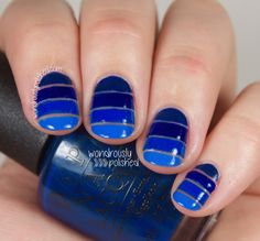Wondrously Polished: The Beauty Buffs - Royal Blue Trend #thebeautybuffs