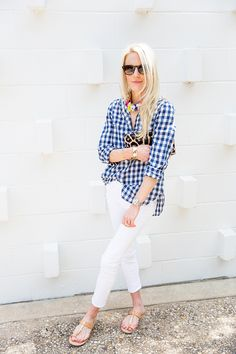 THAT GINGHAM SHIRT | Luella & June