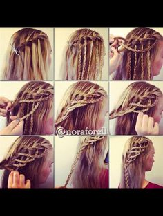 Magnificent 1000 Images About Hair On Pinterest Updo Braids And Buns Short Hairstyles Gunalazisus