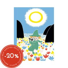 Snufkin Who Will Comfort Toffle Moomin card Karto от Farmazony Moomin Shop, Standard Postcard Size, Blank Page, Spring Time, Finland, Notebook, Lettering, A5, Cover