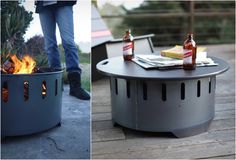 FIre RIng is a fire pit and a table. Genius.