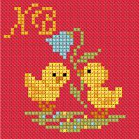 Baby Cross Stitch Patterns, Cat Cross Stitches, Bead Loom Patterns, Cross Stitch Designs, Cross Stitching, Xmas Cross Stitch, Cross Stitch Flowers, Embroidery Art, Embroidery Stitches