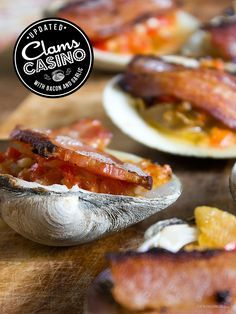"Growing up in Maine, I was used to pretty simple seafood preparations. In Maine (and particularly in the most of the clams, mussels, and shrimp my family cooked at home was of the ""steamed"" Clam Recipes, Seafood Recipes, Appetizer Recipes, Cooking Recipes, Healthy Recipes, Appetizers, Lobster Recipes, Cooking Tips, Seafood Dishes"