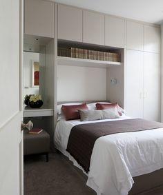 Small Bedroom Wardrobe, Small Room Design Bedroom, Very Small Bedroom, Small Closet Design, Small Room Interior, Bedroom Cupboard Designs, Bedroom Furniture Design, Home Room Design, Wardrobes For Small Bedrooms
