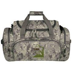 Promotional Digi Camo Multi Pocket Gym Bag