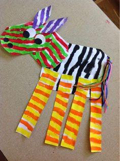 Color It Like you MEAN it!: Zebras!