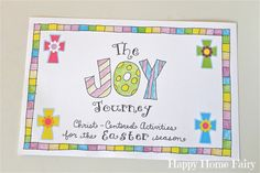 I AM SO IN LOVE WITH THIS!!!!! The Joy Journey - Christ-Centered Activities for the Easter Season 9.jpg