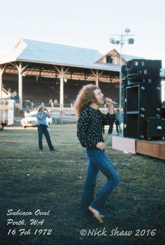 LedZeppelin in Perth, Australia 1972.