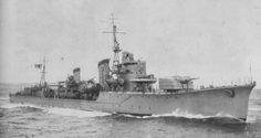 IJN Harusame underway, Nov 30 1943 Of STuGs And Weebs.