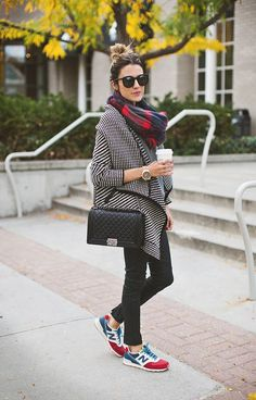 The Sneakers That Perfectly Match Plaid (via Bloglovin.com )