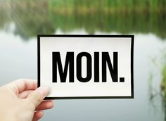 Moin Postkarte