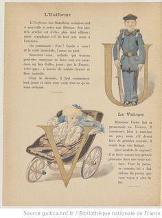 Album-alphabet illustré / par E. de Liphart   Gallica