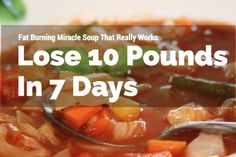 Cabbage Soup Diet Lose 10 Pounds In A Week Guaranteed Quick Weight Loss Tips, Lose Weight Quick, Loose Weight, Losing Weight, Reduce Weight, Soup Recipes, Diet Recipes, Healthy Recipes, Diet Tips