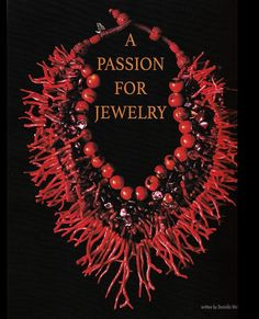 Laguna Beach Arts article on Gretchen Shields. A pssion for jewelry w/ red coral necklace. Red Necklace, Beaded Necklaces, Red Coral, Turquoise, Beauty Tips, Beauty Hacks, Art Articles, Art Carved, Coral Jewelry