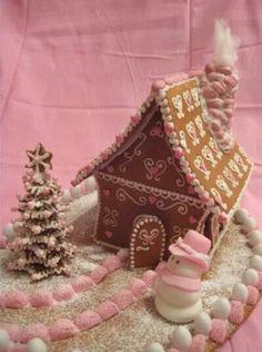 Vaalpun piparitalo Seasons Of The Year, Best Seasons, Christmas Home, Xmas, Color Rosa, Christmas Inspiration, Gingerbread Houses, Holiday, Crafts