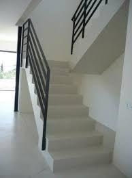 Resultado de imagen para escalera en cemento alisado