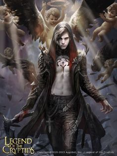 Výsledek obrázku pro fallen angel fantasy male