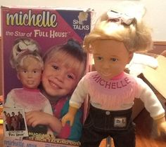 Full house talking Michelle tanner! Not gonna lie, I totally had one of these.