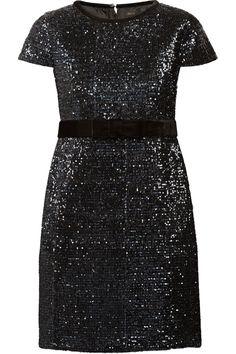 MAJE Ketsia sequined mini dress $510.00 http://www.net-a-porter.com/products/486570
