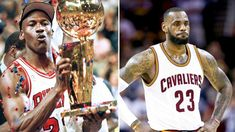 #lebron  James probably has equal or better skills – at rebounds, at 3-pointers, at efficient game – than Michael #jordan , and Jordan has better ability to dominate a game and go for a win whatever skill it takes.