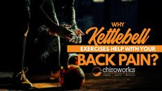 Why Kettlebell Exercises Help With Your Back Pain? Back Pain Exercises, Your Back, Chiropractic, Kettlebell, At Home Workouts, Wellness, Kettle Ball, Chiropractic Wellness, Kettlebells