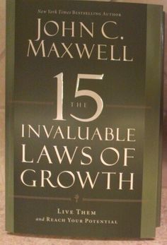 Anything by John C. Maxwell is a must-read
