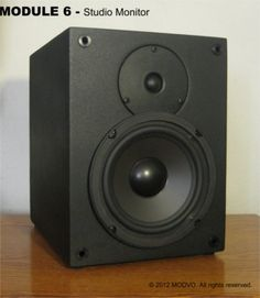 The SM-6 Monitor Speaker. A compact monitor with big detailed sound.
