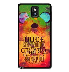Adventure Time Jake The Dog Galaxy Nebula Samsung Galaxy S3 S4 S5 Note 3 Case