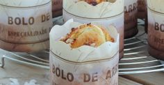 bolo de arroz, muffins portugais, muffins du portugal A Food, Food And Drink, Yummy Food, Tasty, Portuguese Recipes, Muffin Cups, Baking Ingredients, Cookie Dough, Sweet Recipes