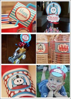 Train  Birthday Party Ideas