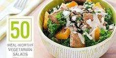 50 Meal-Worthy Vegetarian Salads