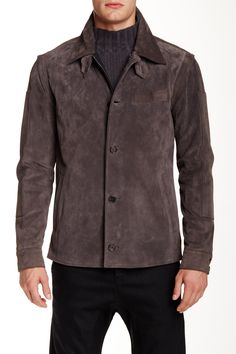 Genuine Leather Suede Jacket by PORTS 1961 on @nordstrom_rack