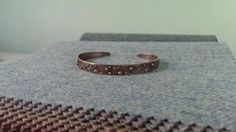 """My """"Milk Way"""" bracelet, which hasn't made it into silver form yet."""
