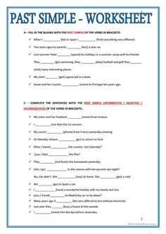 Past Simple Worksheet - Past Simple Worksheet Pasado Simple Ingles Ingles Basico Para Simple Past Tense Add Ed English Esl Worksheets For Distance Past Simple Tense Worksheet. Teaching English Grammar, English Grammar Worksheets, Grammar Lessons, English Vocabulary, Writing Lessons, Teaching Spanish, Grammar Exercises, English Exercises, English Lessons
