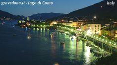 Gravedona Italy on il lago di como