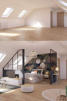 Home Room Design, Interior Design Living Room, House Design, Home Bedroom, Room Decor Bedroom, Bedrooms, Design Case, Flat Design, House Rooms