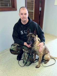An official with the Wilmington Police Department confirmed the Belgian Malinois service dog was found.