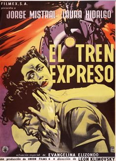 40's-50's filmex poster by  Ernesto Garcia Cabral