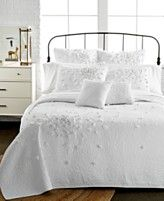 Nostalgia Home Petals White Quilt Collection at Macy's