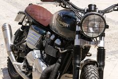 366415c61f25 Guildford modelo triumph bonneville realizada por Tamarit Motorcycles.  Tamarit hace proyectos para triumph bonneville