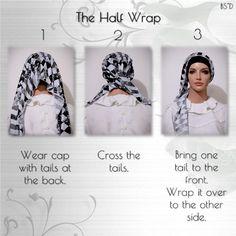 Cap-n-Wrap The Half Wrap Scarf 01