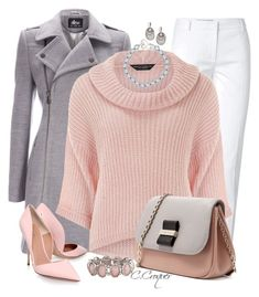 Pastels & Winter by ccroquer on Polyvore featuring мода, Dorothy Perkins, Wallis, Emilio Pucci, Kurt Geiger, See by Chloé, Dower & Hall and David Yurman